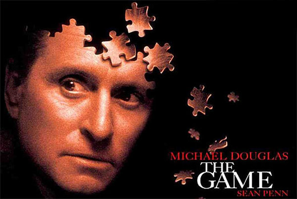 &#39;The Game&#39; &#40;1997&#41;: Starring alongside with Sean Penn, Michael Douglas&#39; character Nicholas Van Orton receives a live-action adventure game from his brother that consumes his life. <span class=meta>(Photo courtesy of Polygram Filmed Entertainment)</span>