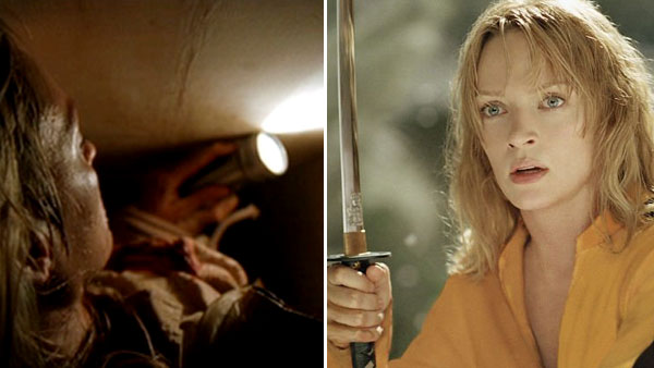 Uma Thurman fears confined spaces. &#40;Pictured: Uma Thurman in scenes from &#39;Kill Bill: Vol. 1&#39;.&#41; <span class=meta>(Miramax)</span>