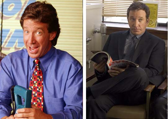 Tim Allen in a promotional still for 'Home...