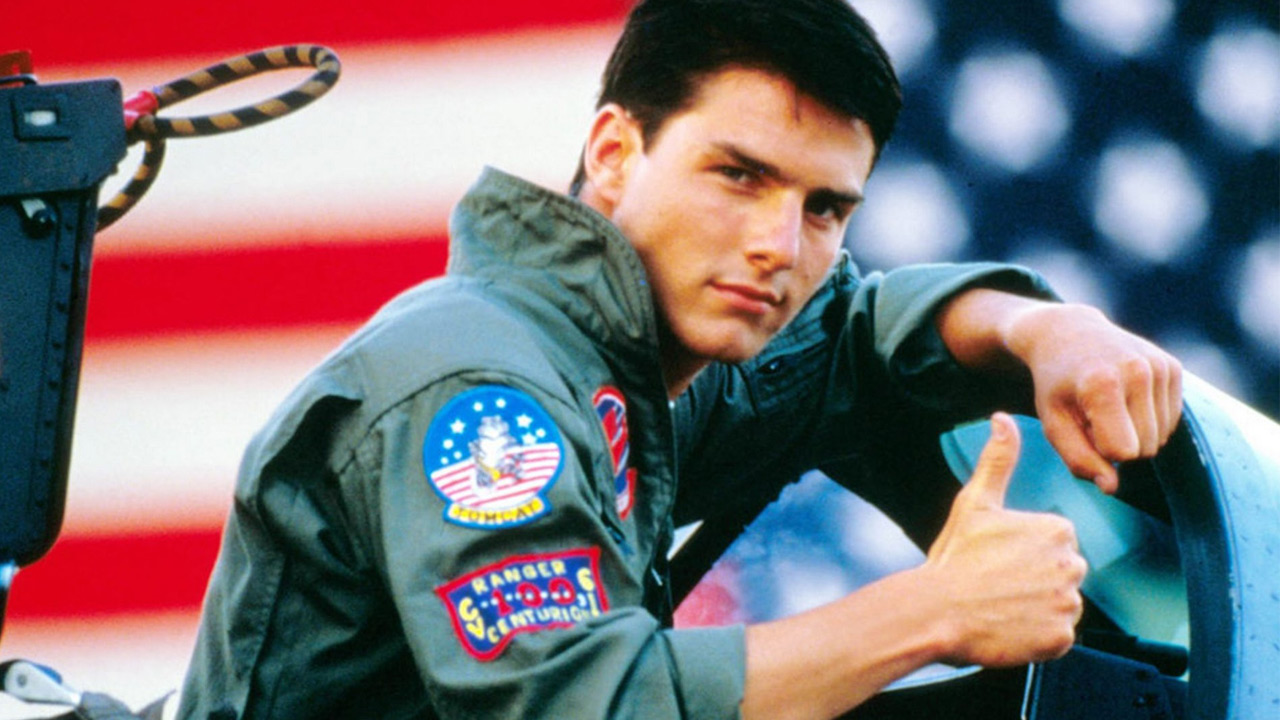 Katie Holmes says she knew she wanted to marry Tom Cruise the moment she saw him in the 1986 film &#39;Top Gun&#39;, in which he played a fighter pilot. <span class=meta>(Photo courtesy of Julian Hibbard)</span>