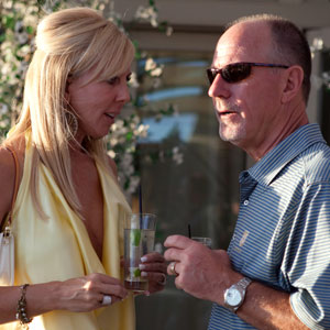 Vicki Gunvalson of 'The Real Housewives of Orange County' filed for divorce from husband Donn Gunvalson after 16 years of marriage in October 2010.