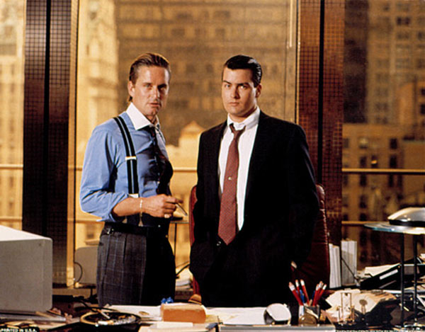 "<div class=""meta ""><span class=""caption-text "">Wall Street (1987): In the same year as 'Fatal Attraction,' Michael Douglas also starred in this film as the greedy, money-hungry and ruthless stockbroker, Gordon Gekko.  (Photo courtesy of Twentieth Century Fox Film Corporation)</span></div>"