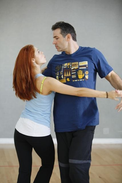 "<div class=""meta ""><span class=""caption-text "">Former NFL star Kurt Warner rehearses with Anna Trebunskaya, who returns for her sixth season. (ABC/Greg Zabilski)</span></div>"