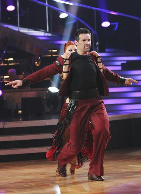"<div class=""meta ""><span class=""caption-text "">Kurt Warner and Anna Trebunskaya perform on 'Dancing With the Stars,' Monday, Oct. 25, 2010. The judges gave the couple 18 out of 30 for individual and 4 points for the dance marathon for a total of 22. (ABC Photo/Adam Larkey)</span></div>"