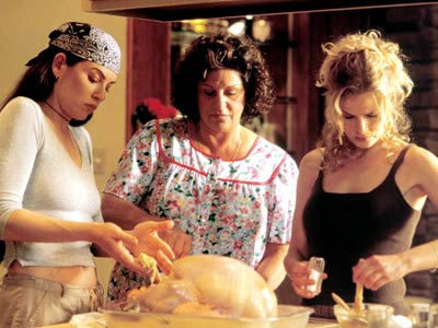 "<div class=""meta ""><span class=""caption-text "">'What's Cooking?' (2000). This film tells of four culturally diverse families preparing for Thanksgiving dinner.  Food captures the spirit of the holidays in this movie as each family prepares their turkey in a different way. (Photo courtesy of BeCause Entertainment)</span></div>"