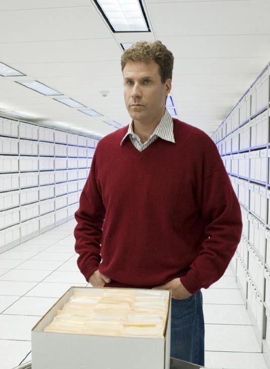 Funnyman Will Ferrell's wife, Viveca Paulin, gave birth to the couple's third son Axel Ferrell in January 2010. Pictured: Will Ferrell in a scene from 'Stranger than Fiction.'