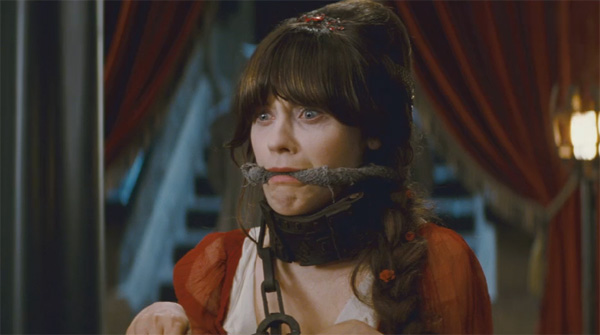Zooey Deschanel as Belladonna in the 2011...
