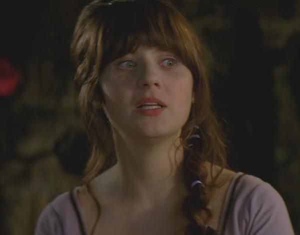 Zooey Deschanel as Belladonna in the 2011 fantasy comedy movie, 'Your Highness.'