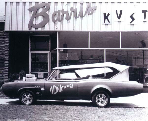 A photo of the Monkees car. <span class=meta>(Photo&#47;Courtesy George Barris)</span>