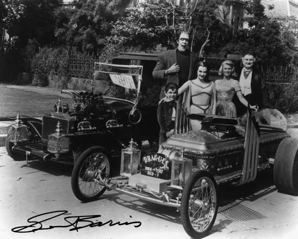 A photo of the Munsters TV car. <span class=meta>(Photo&#47;Courtesy George Barris)</span>