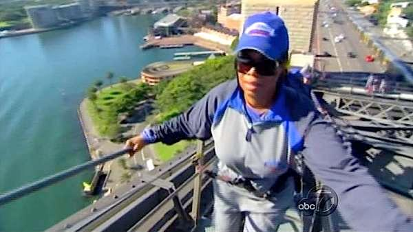 Climb Australia's Sydney Harbor Bridge