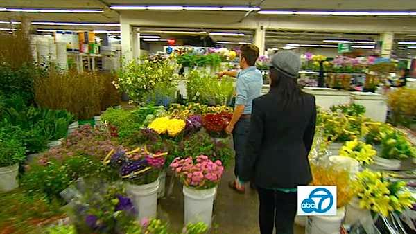 Looking to update your home but don't have much of a budget? Lifestyle expert Theodore Leaf of GinghamCottage.com took Eye on L.A. on an adventure around the city, including the Los Angeles Flower Market where flowers can be bought on the cheap.