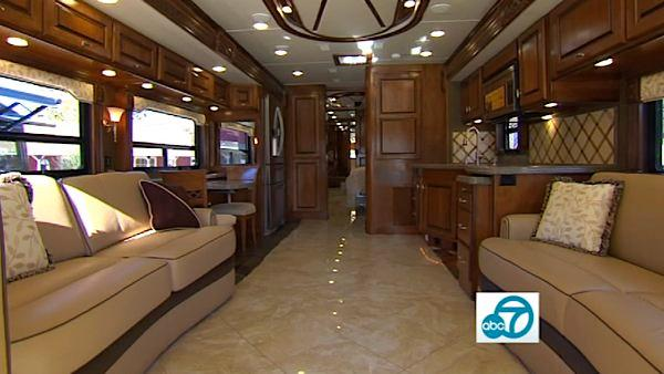 Ride in style in McMahon's RV