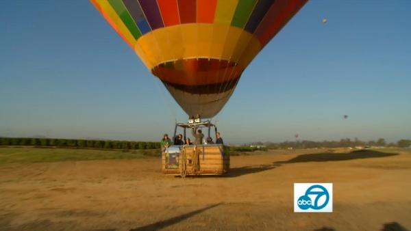 Sunrise Balloons in the heart of Temecula's wine country offers a getaway from the city traffic and busy-ness of L.A.