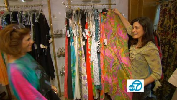 Vintage shop offers clothes from 1920s-30s