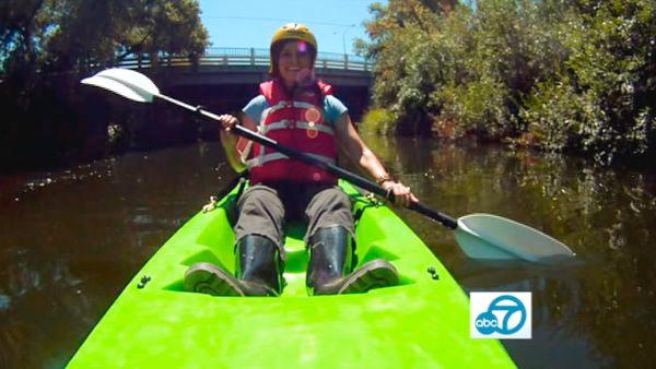 See lowriders, kayak down the LA River