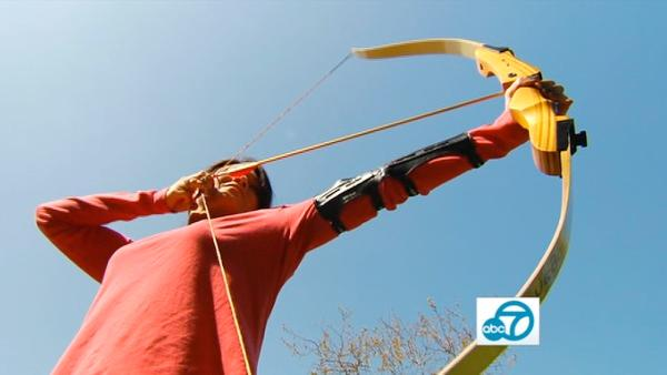 Learn fire dancing, archery in LA