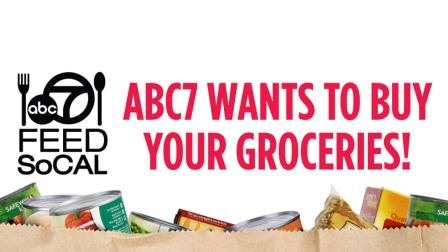 ABC7 wants to buy your groceries! Enter today our giveaway for gift cards to Vons on the ABC7 Facebook page.