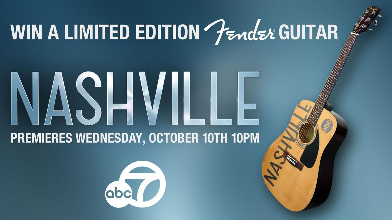Are you a music lover? Like ABC7 on Facebook and enter for your chance to win a limited edition acoustic Fender guitar.