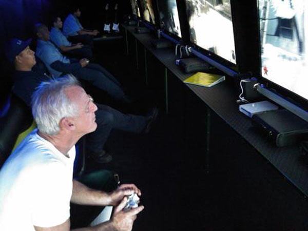 "<div class=""meta ""><span class=""caption-text "">Garth the Elf and the LA City Explorers played games in the VideoGames2U.com party bus at the Stuff-A-Bus event. (KABC)</span></div>"