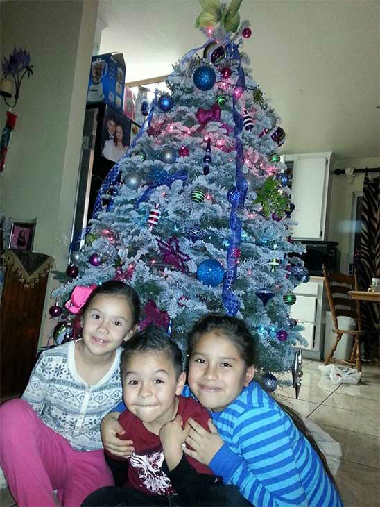 ABC7 viewer Cindy Romero shared this holiday snapshot. Use #ABC7HomeForTheHolidays on Facebook, Twitter and Instagram to share your holiday photos with ABC7. We&#39;ll feature some of the best on our newscasts and here on abc7.com! <span class=meta>(KABC Photo)</span>