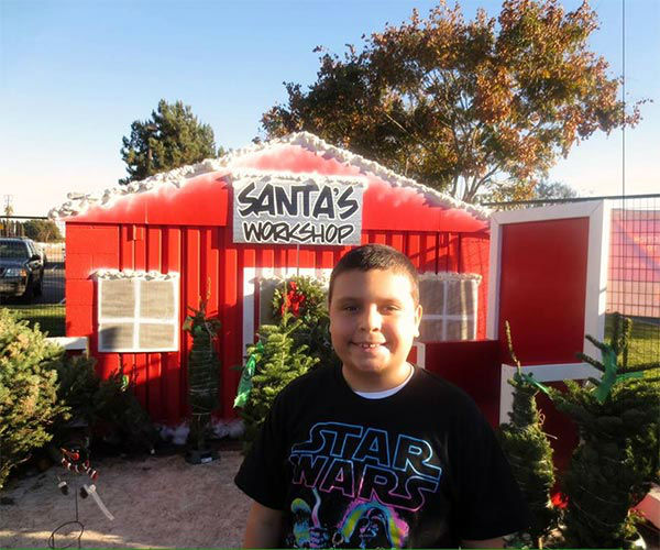 ABC7 viewer Isabel Guzman shared this holiday snapshot. Use #ABC7HomeForTheHolidays on Facebook, Twitter and Instagram to share your holiday photos with ABC7. We&#39;ll feature some of the best on our newscasts and here on abc7.com! <span class=meta>(KABC Photo)</span>