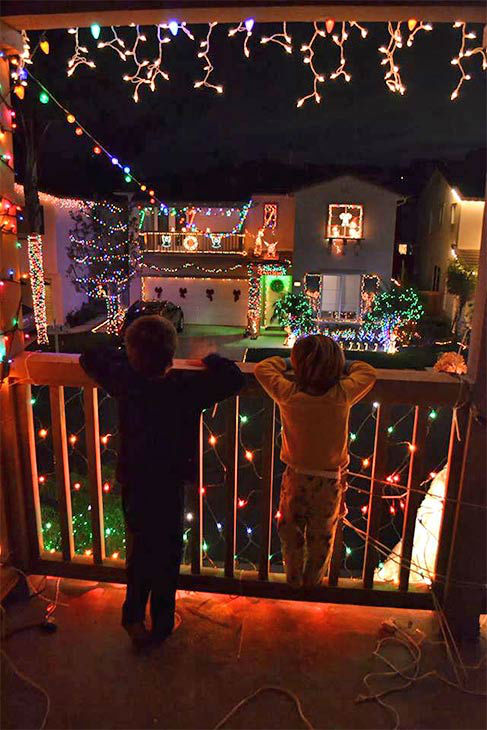 ABC7 viewer Robert Steshetz shared this holiday snapshot. Use #ABC7HomeForTheHolidays on Facebook, Twitter and Instagram to share your holiday photos with ABC7. We&#39;ll feature some of the best on our newscasts and here on abc7.com! <span class=meta>(KABC Photo)</span>