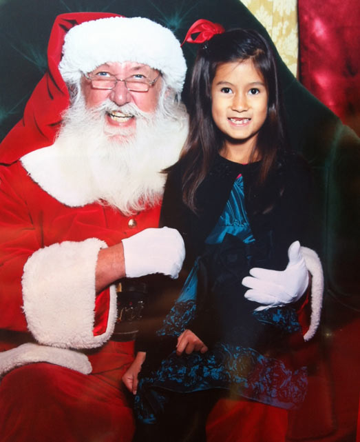 ABC7 Assignment Editor J.J. Jaramillo shared this holiday snapshot. Use #ABC7HomeForTheHolidays on Facebook, Twitter and Instagram to share your holiday photos with ABC7. We&#39;ll feature some of the best on our newscasts and here on abc7.com! <span class=meta>(KABC Photo)</span>