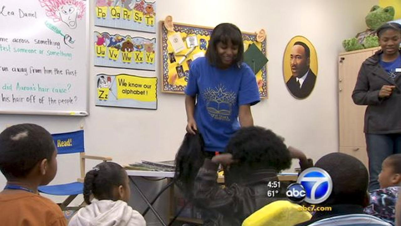 Cool Kid Ebony Mabry-Marts is  a huge influence on the younger kids in her community and shes reaching out through reading.