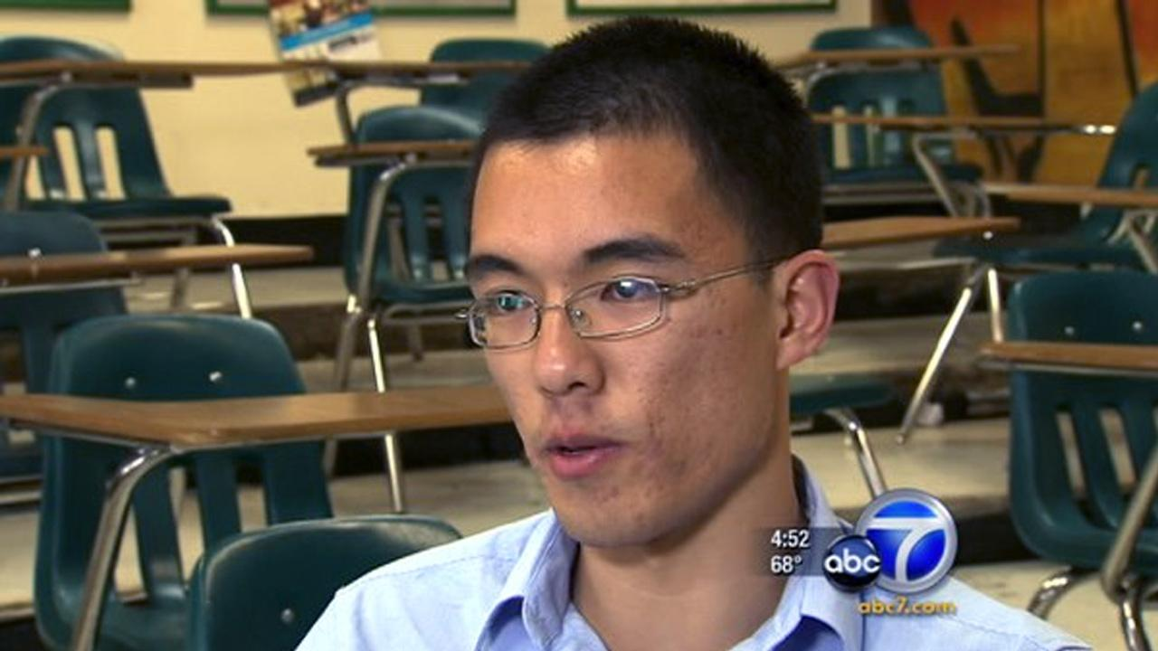 Cool Kid Jacky Yao encourages his peers to give back through community service.