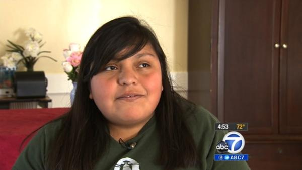 Cool Kid Nadine Mora helps the elderly in the San Gabriel Valley.