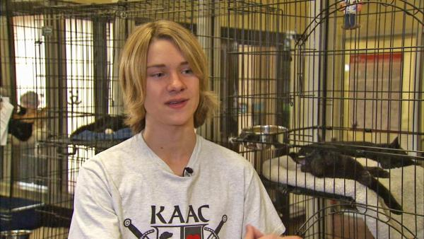 Cool Kid's passion to save four-legged friends