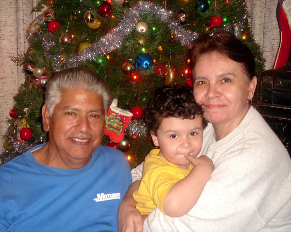 Holiday greeting for Diego Guzman: Hope you have a great Christmas! We love you so much - Love, Grandma, Papa, Auntie Isabel, Uncle Tommy and Buddy.  <span class=meta>(ABC7 Photo&#47; Dionicio Guzman of Lynwood)</span>