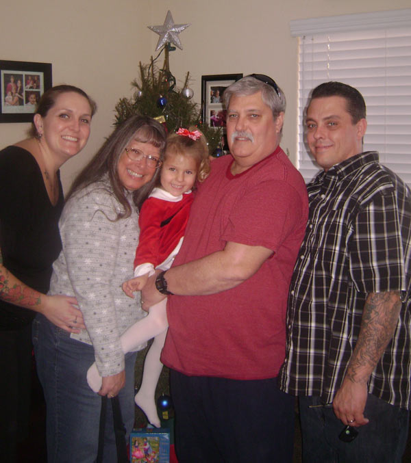Our family last Christmas!  Love them all. From Grandma Ginny Pender <span class=meta>(ABC7 Photo&#47; Ginny Pender)</span>