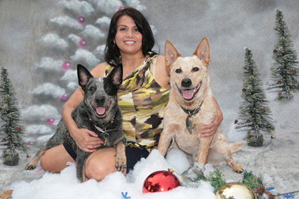 Merry Christmas and Happy New Year to all my relatives and friends - From Gloria Stabolito   <span class=meta>(ABC7 Photo&#47; Gloria Stabolito of Encino)</span>