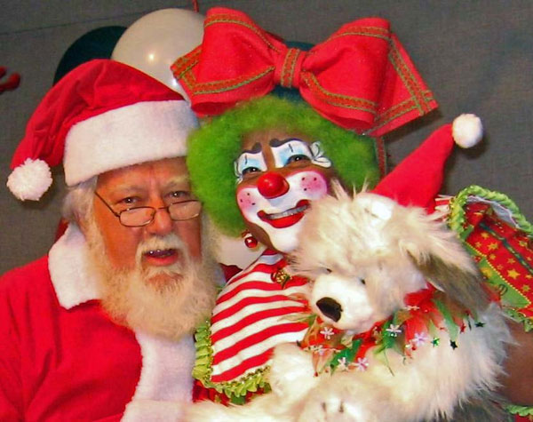 May you never outgrow Santa&#39;s lap or the magic that is Christmas! -  Joy the Magic Clown <span class=meta>(ABC7 Photo&#47; Joyce Payne of Los Angeles)</span>