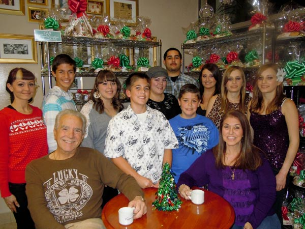 Happy holidays from the Mattera family of Rancho Palos Verdes. <span class=meta>(ABC7 Photo&#47; Mariea Mattera)</span>