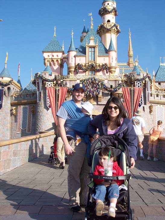Happy holidays from the Happiest Place on Earth -  Zino Family <span class=meta>(ABC7 Photo&#47;Michael Villegas)</span>