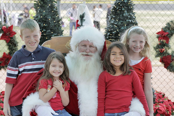 Merry Christmas to Caden, Elliett, Faith and Olivia. Mommy and daddy love you all so much.  I hope Santa was extra good to you guys because you deserve the very best!   <span class=meta>(ABC7 Photo&#47; Sara Hernandez of Twentynine Palms)</span>