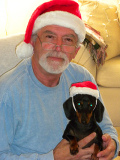 Merry Christmas from Arnold and Kobe! <span class=meta>(ABC7 Photo&#47;Shirley Stevenson of Aliso Viejo)</span>
