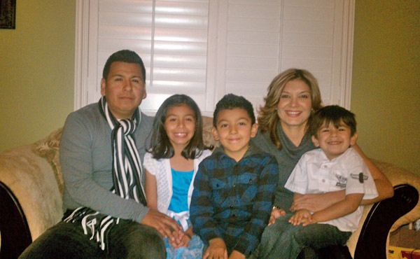 Happy holidays from the Valadez family... Manny, Alexxis, Joshua, Alejandro and Alejandra.  <span class=meta>(ABC7 Photo&#47;The Valadez Family)</span>