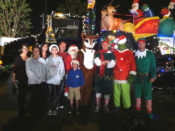 "<div class=""meta ""><span class=""caption-text "">Our friends at Ben's Asphalt pose at the Stuff-A-Bus event at the Honda Center in Anaheim on Friday, Dec. 16, 2011. (KABC Photo)</span></div>"