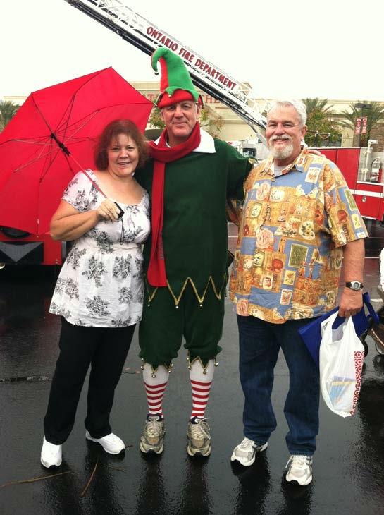 "<div class=""meta ""><span class=""caption-text "">Garth the Elf poses with ABC7 viewers at the Stuff-A-Bus toy drive at Mathis Brothers Furniture in Ontario on Friday, Nov. 30, 2012. (KABC)</span></div>"