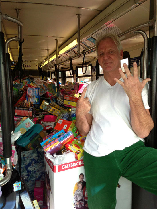 "<div class=""meta ""><span class=""caption-text "">Bus #6 stuffed! The sixth bus was packed full of toys at the Stuff-A-Bus toy drive at the Honda Center in Anaheim on Friday, Dec. 21, 2012. (KABC Photo)</span></div>"