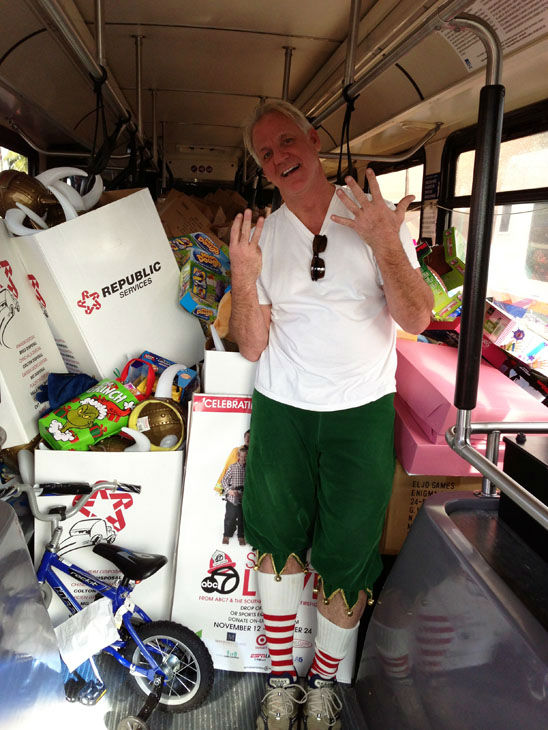 "<div class=""meta ""><span class=""caption-text "">Bus #8 stuffed! The eighth bus was packed full of toys at the Stuff-A-Bus toy drive at the Honda Center in Anaheim on Friday, Dec. 21, 2012. (KABC Photo)</span></div>"