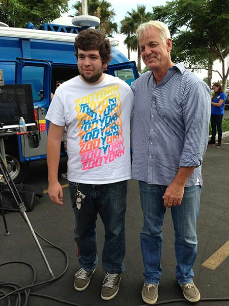 "<div class=""meta ""><span class=""caption-text "">ABC7 Weathercaster Garth Kemp poses for a photo with Mark from Fontana at the Feed SoCal event in Ontario on Friday, July 26, 2013. (KABC Photo)</span></div>"