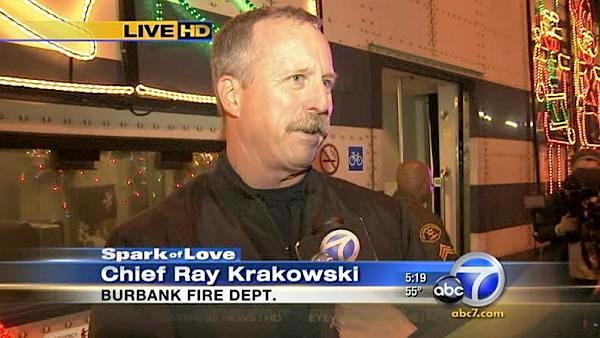Burbank fire chief talks Spark of Love