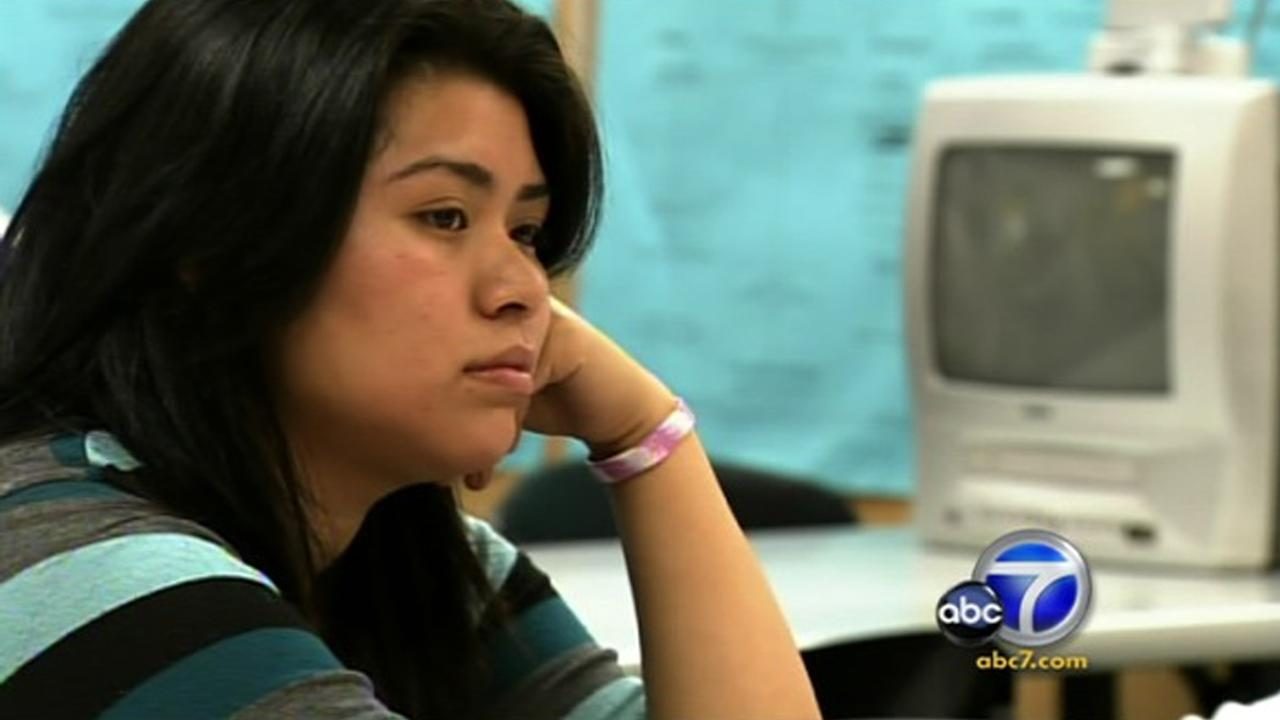 Cool Kid Monica Hernandez offers hope to everyone she helps at the Pomona Self-Help Access Center.