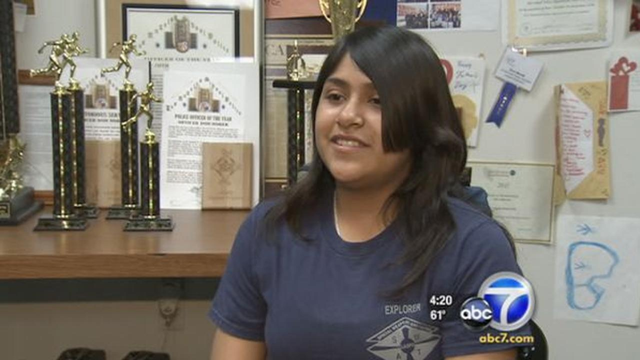 Cool Kid Christine Mercado reaches out to children living in the toughest areas of Los Angeles.