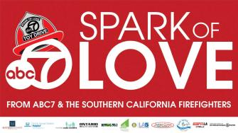 ABC7 and Southern California Firefighters are celebrating the Spark of Love Toy Drive.